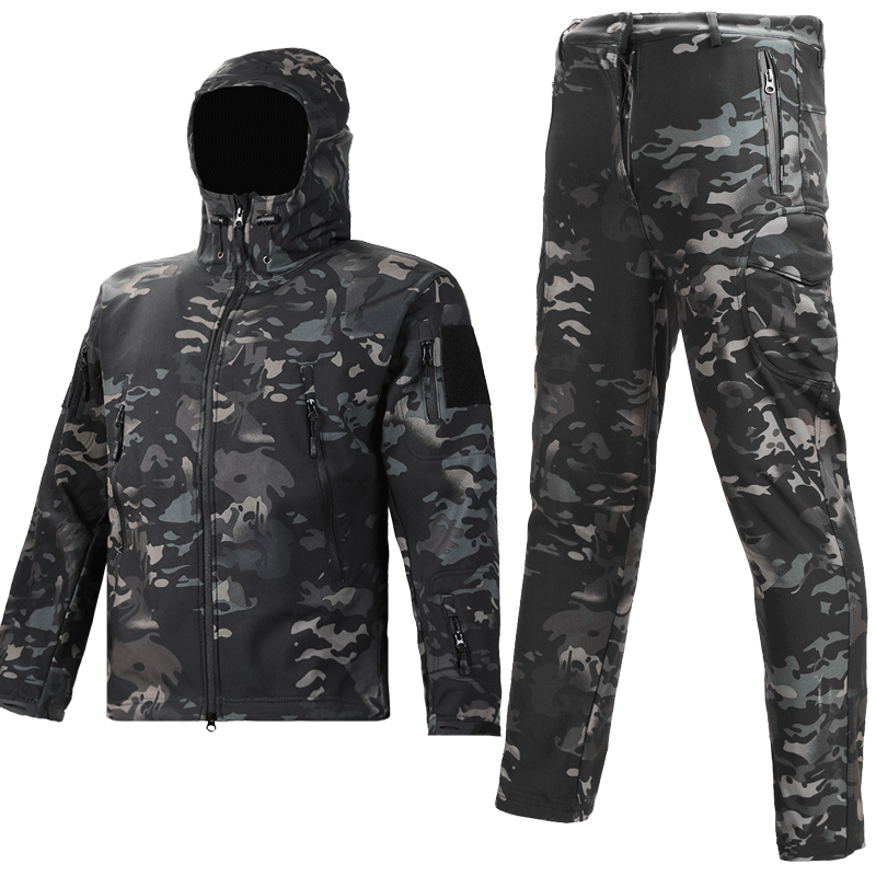 Camouflage suit men Tactical Jacket jacket winter field Special Forces genuine Army fan combat wear military uniform