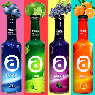 Akhtar akata pre wine liqueur 3 Weixun cocktail of four kinds of wine bottles flavors 275ml * 4