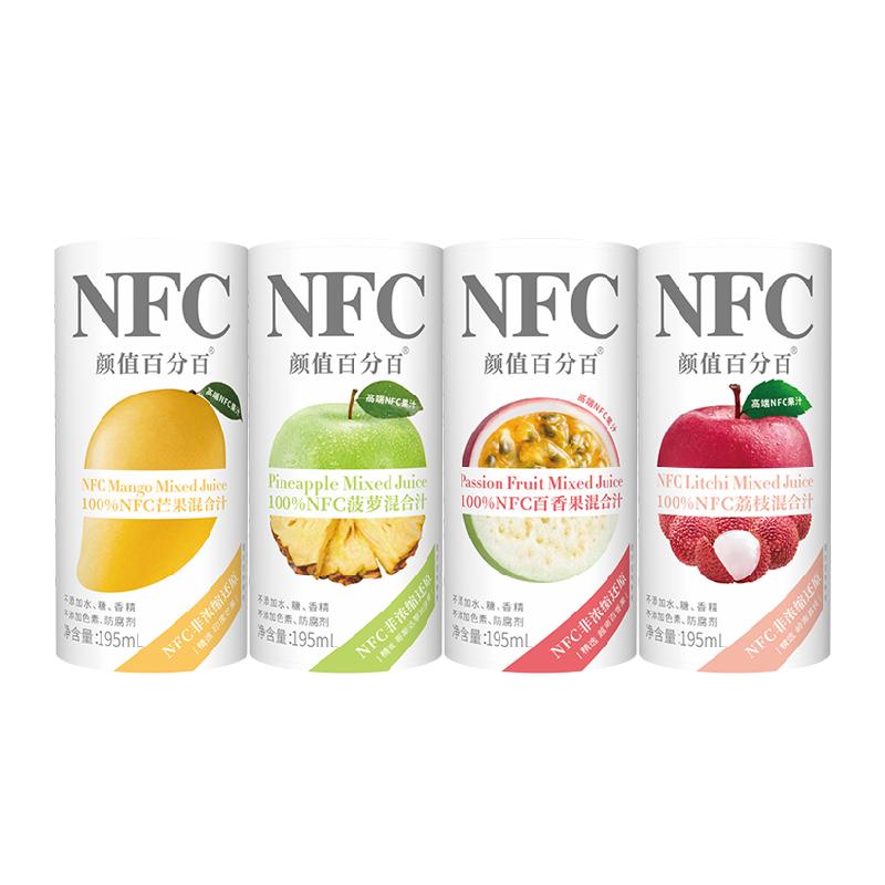 【颜值百分百】NFC果蔬汁6罐装