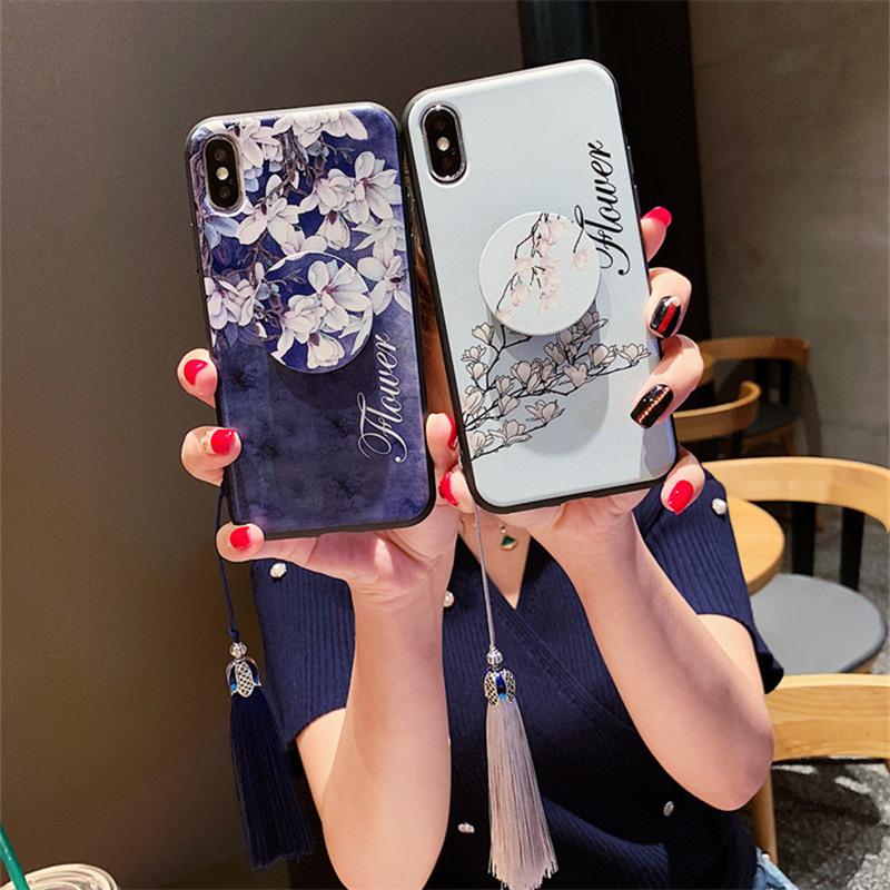 送流苏iphonexs max手机壳女款苹果7plus浮雕xr潮牌7防摔8plus硅胶ix软壳8全包个性6p中国风超薄创意6splus套_天猫超市优惠券