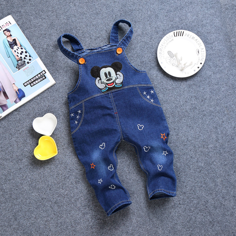 Spring children's pants 0-1 year old children carry pants men's and women's baby pants 2-3-4 years old children's jacket single pants