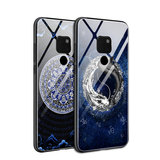 China Fenghua is MATE20 mobile phone case Mate20Pro Taoist yin yang fish MATE10 anti-fall MATE10PRO personality creative all-inclusive anti-fall MT20 men's M20 new glass meta