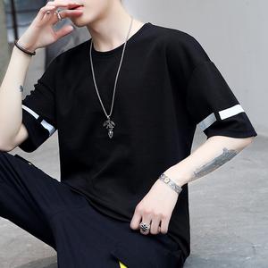 2019男士短袖T恤韩版休闲T恤