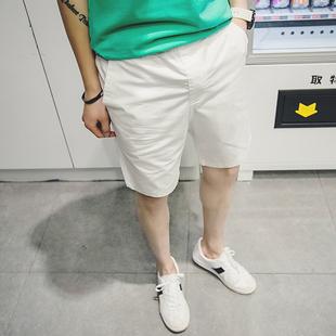 男士短裤夏季宽松潮流5五分裤薄款休闲7分裤子沙滩裤大码运动短裤