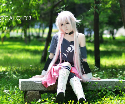 taobao agent cosplay costume/VOCALOID3/IA official costume anime costume cosplay