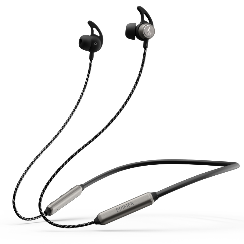 edifier / rambler w300bt wireless 5.0 bluetooth headset dual ear halter in ear magnetic suction running super long standby android universal headset