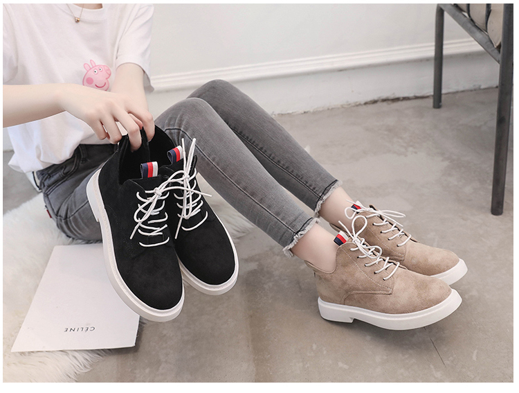 New single casual high-top round ankle boots 63