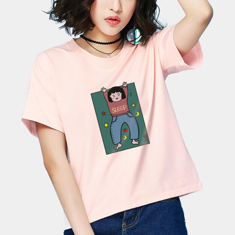 【拍2件29.9】微雅力荐bf风个性T恤