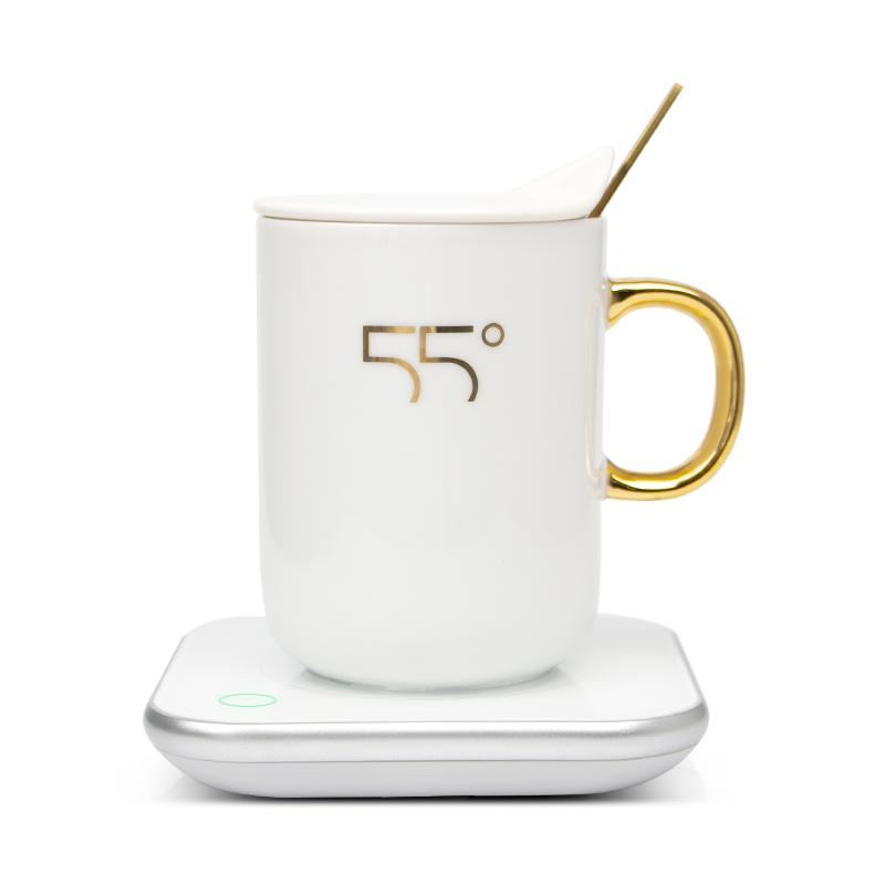 贝丽55℃度恒温暖暖杯杯垫保温底座加热杯子水家用宿舍热牛奶器