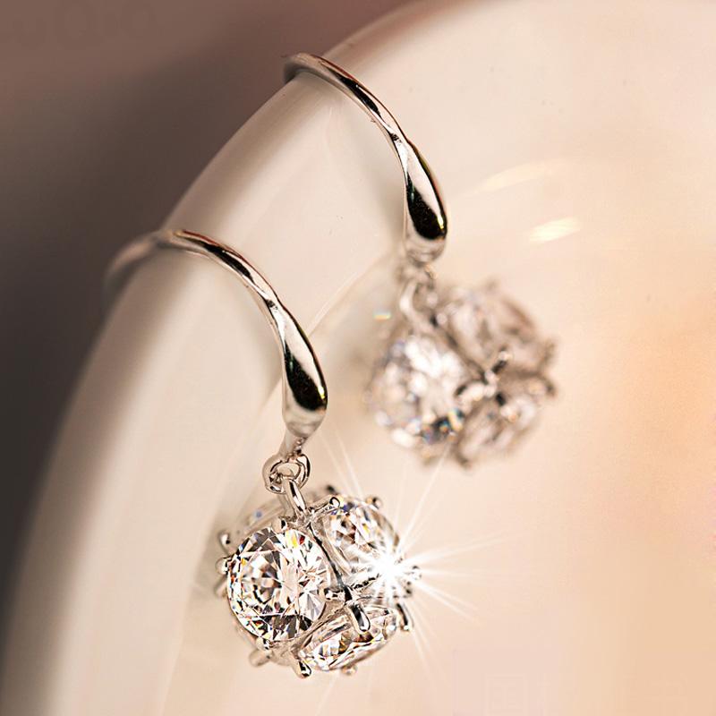 【夏夕】S925银天然珍珠耳环一对礼盒装