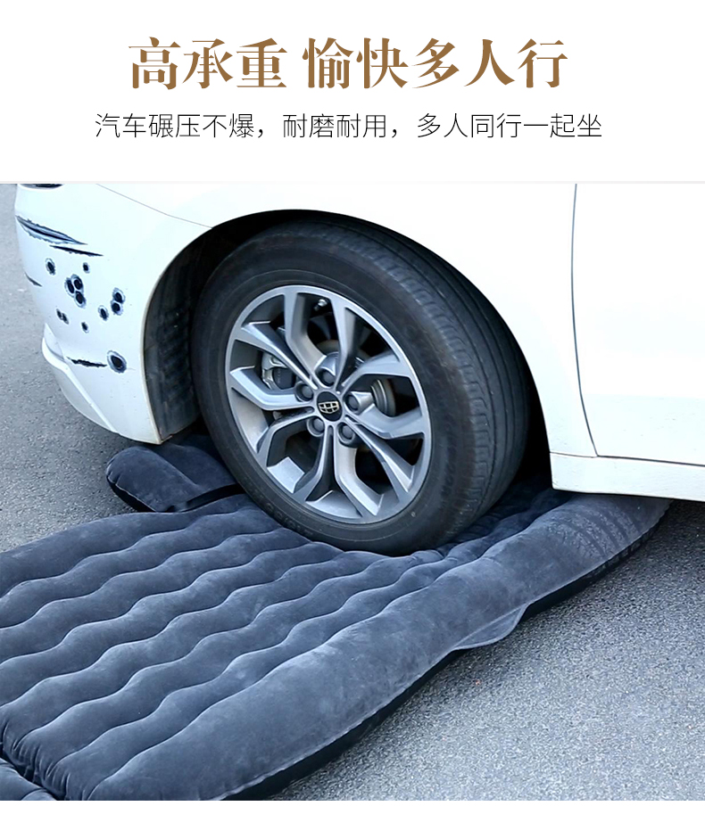 Đệm hơi du lịch hàng ghế thứ 2 Honda CRV, Accord, Civic - ảnh 9