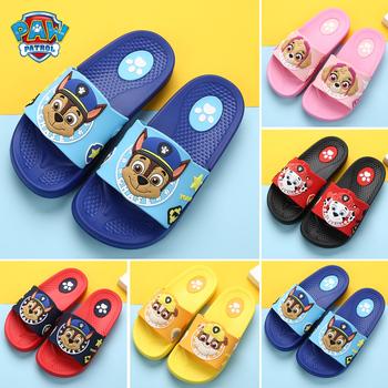 Детская обувь,  Кора команда ребенок шлепанцы лето мальчиков небольшой мультфильм ребенок комнатный скольжение домой маленькая принцесса ребенок прохладно шлепанцы милый, цена 306 руб