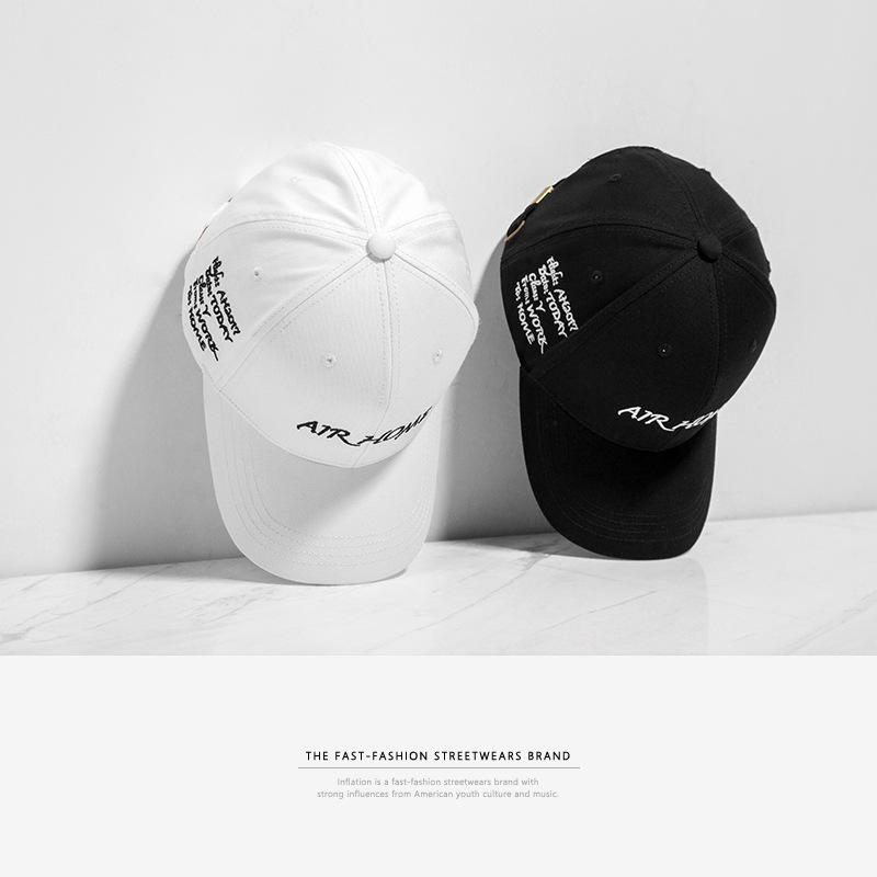 韩版春夏街头英文字母刺绣男女情侣款弯沿帽鸭舌帽棒684327-EF25