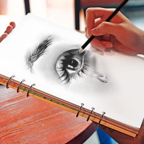 活页空白素描本图画本美术涂鸦绘画本