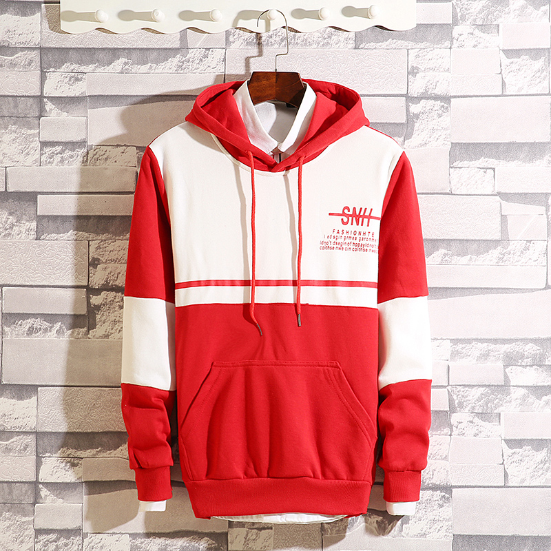 Men's hooded hooded Korean version of the trend Hong Kong wind ins spring and autumn long-sleeved loose-fitting young student men's jacket 50 Online shopping Bangladesh
