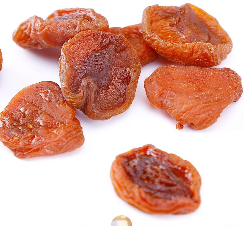 巧奶奶天然杏干不添加杏脯独立小包装无核杏果杏肉零食果干详细照片