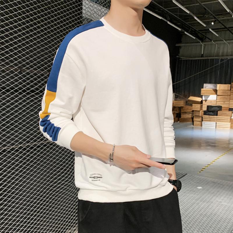 戈格米卫衣男秋季长袖T恤男上衣打底衫男装潮流圆领卫衣体恤男装