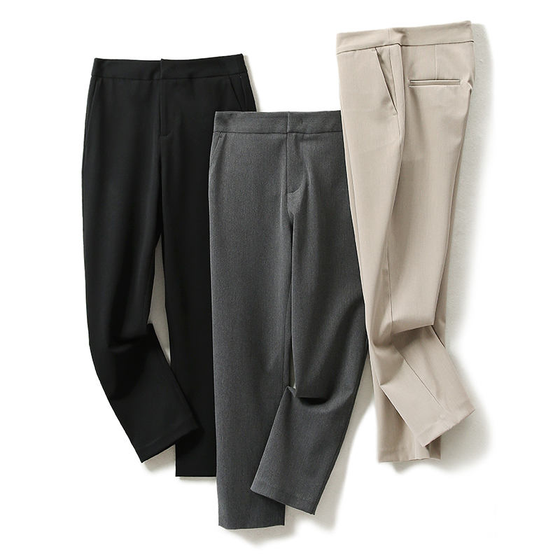 ^@^Rong Mei (KZ1000354)heavy recommended core pants rate thin perfect score to wear cigarette pipe pants