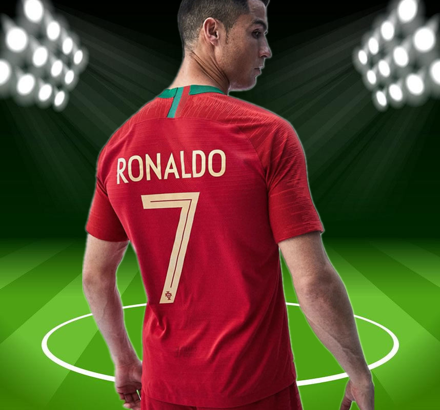 save off c8957 47bea portugal number 7 jersey