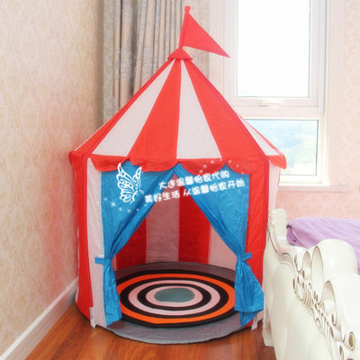 Warm and IKEA IKEA Lux Tower Children's Tent Cartoon House Castle Tent Princess Tent