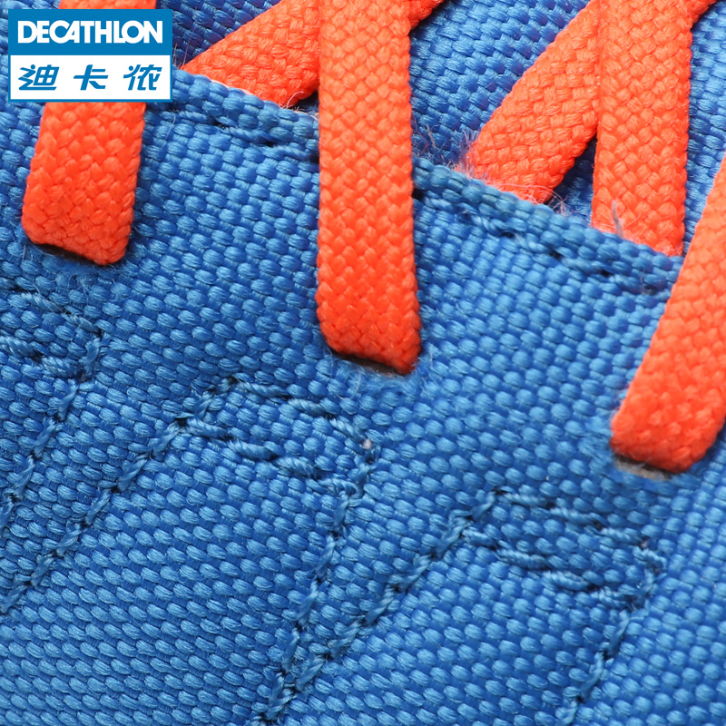 82bcd73f9 ... Decathlon children soccer shoes youth sports shoes indoor soccer shoes  wearable CLR 500 KIPSTA ...