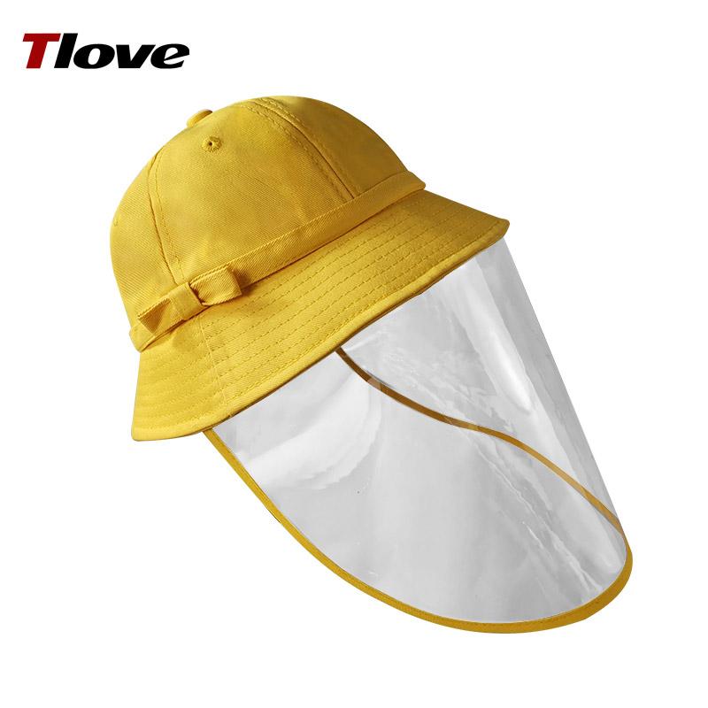 兒童漁夫帽可愛韓版防護帽子防飛沫小黃帽幼兒園小學生防塵安全帽