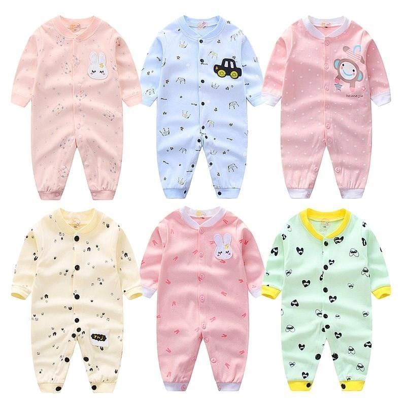 0新生2男婴儿3女宝宝连体衣纯棉6保暖秋衣服8春秋裤1岁12个月9