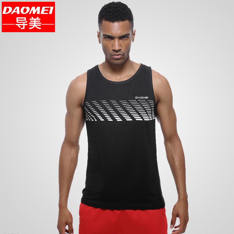 健身背心男宽松速干跑步运动背心无袖篮球训练健美工字肌肉健身衣