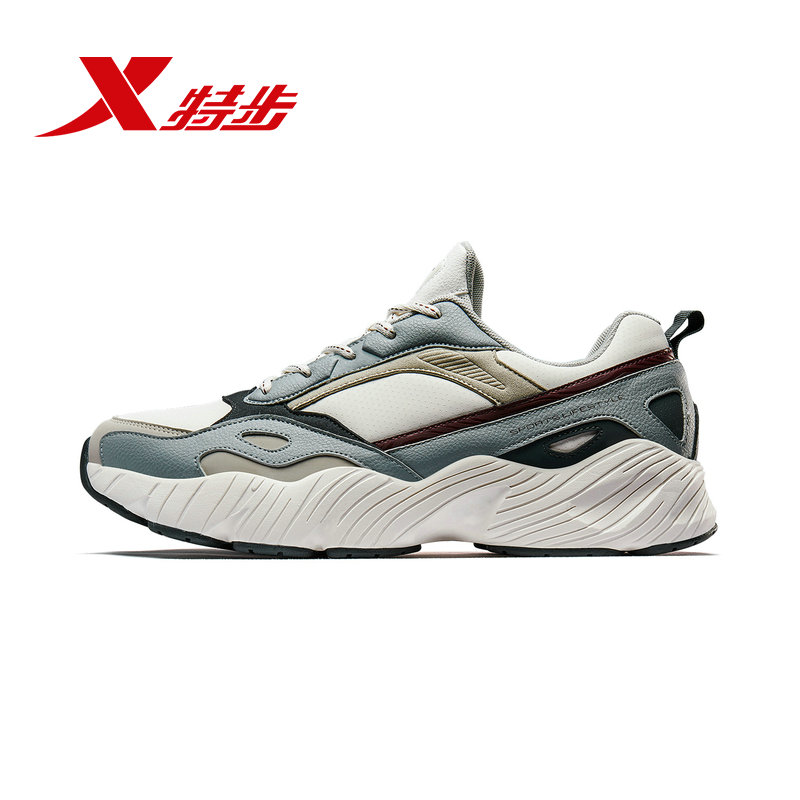 特步男鞋运动鞋男老爹鞋春夏季休闲鞋2019新款跑步鞋子男士正品鞋