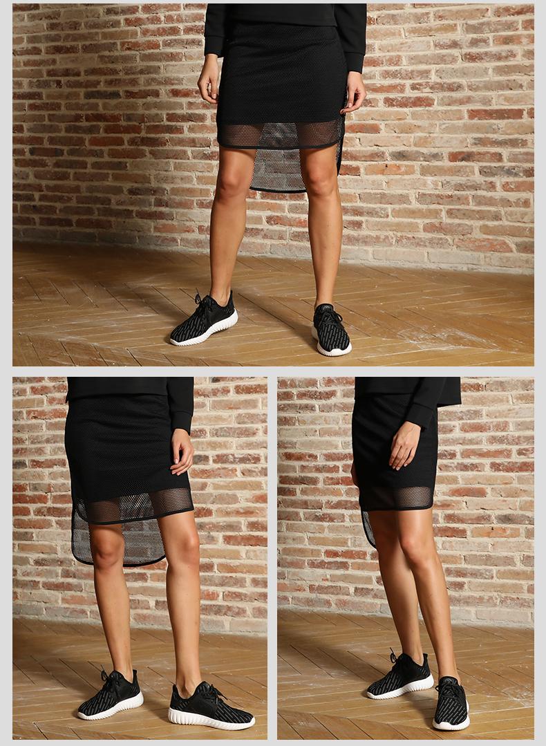 特步 女子网球裙春季款 女子训练时尚简约超轻运动裙882128459153-