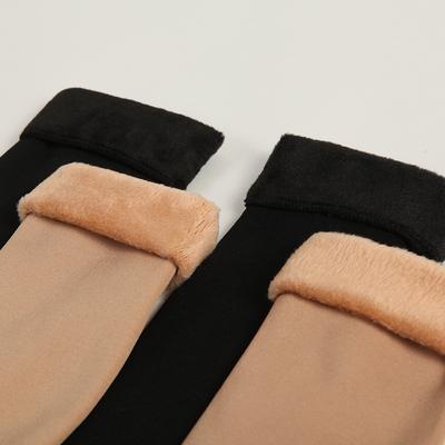 5双装中筒袜加绒保暖雪地袜