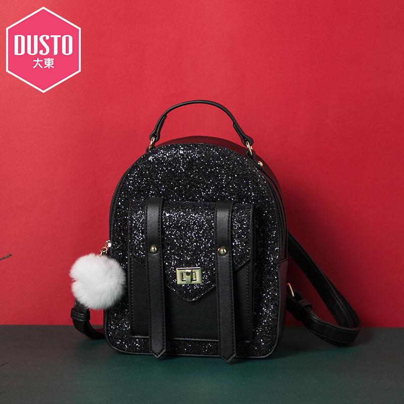 DUSTO DaDong 2018 Hiver new fashion universal campus backpack trend shoulder bag DF18D60652