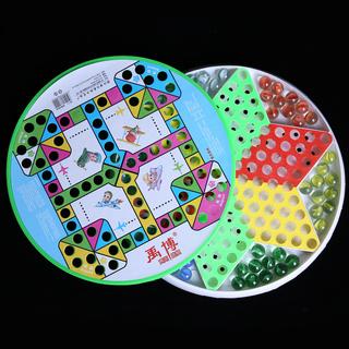 Китайские шашки,  Для взрослых ребенок головоломка большой размер стекло мяч бисер шашки бомба сын кусок шахматная доска отцовство pinball прыжки играть лотков и лестниц., цена 119 руб