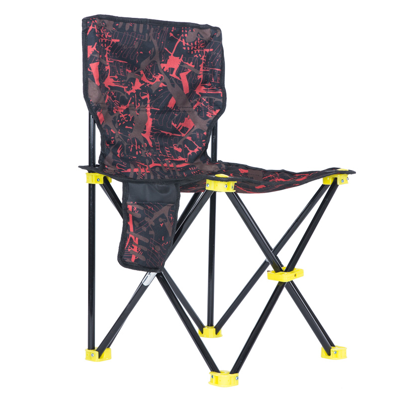 Incredible Black Wolf Fishing Chair Outdoor Folding Chair Fishing Stool Portable Camping Beach Bench Painting Stool Sketching Chair Mazar Small Chair Alphanode Cool Chair Designs And Ideas Alphanodeonline