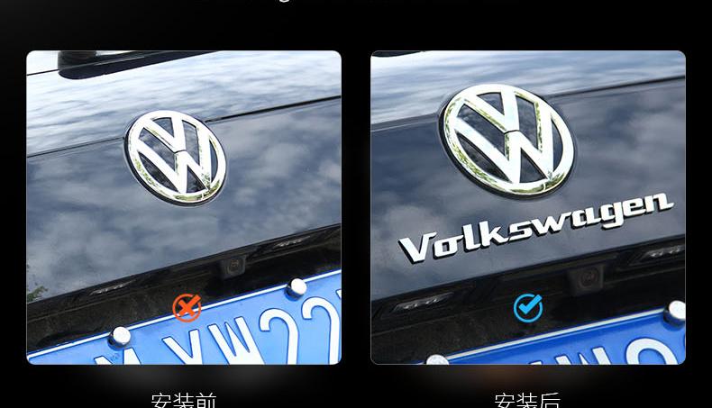 Chữ dán  trang trí xe Volkswagen Tiguan - ảnh 7