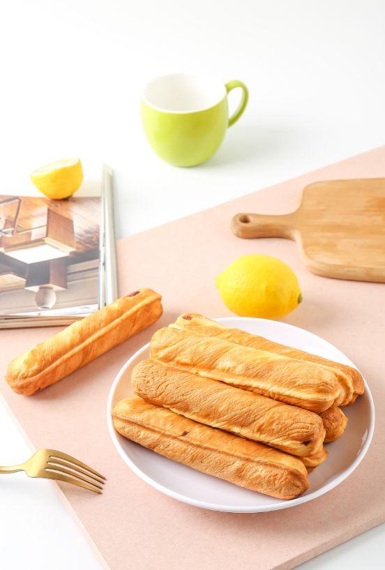 乐锦记宝宝饿了蔓越莓奶香原味手撕麵包棒软奶油注心乳酪包邮详细照片