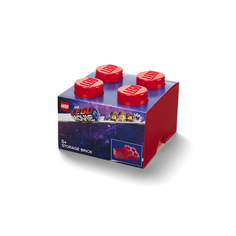 Lego® Movie 4 Grain Storage Box - Red