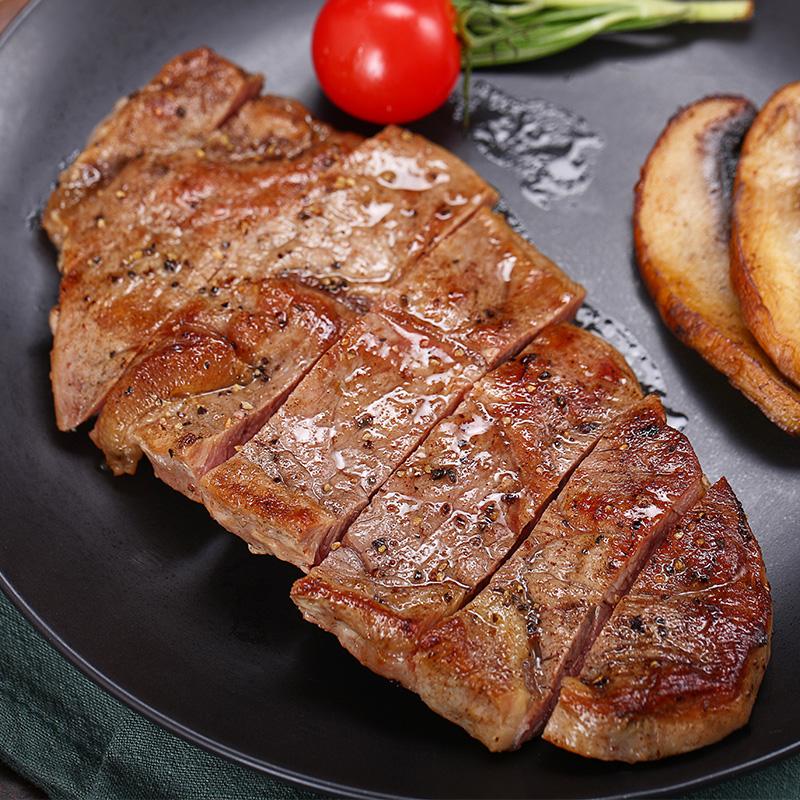 谷饲澳洲和牛:100gx10袋 鲜元道 澳洲进口源切牛排