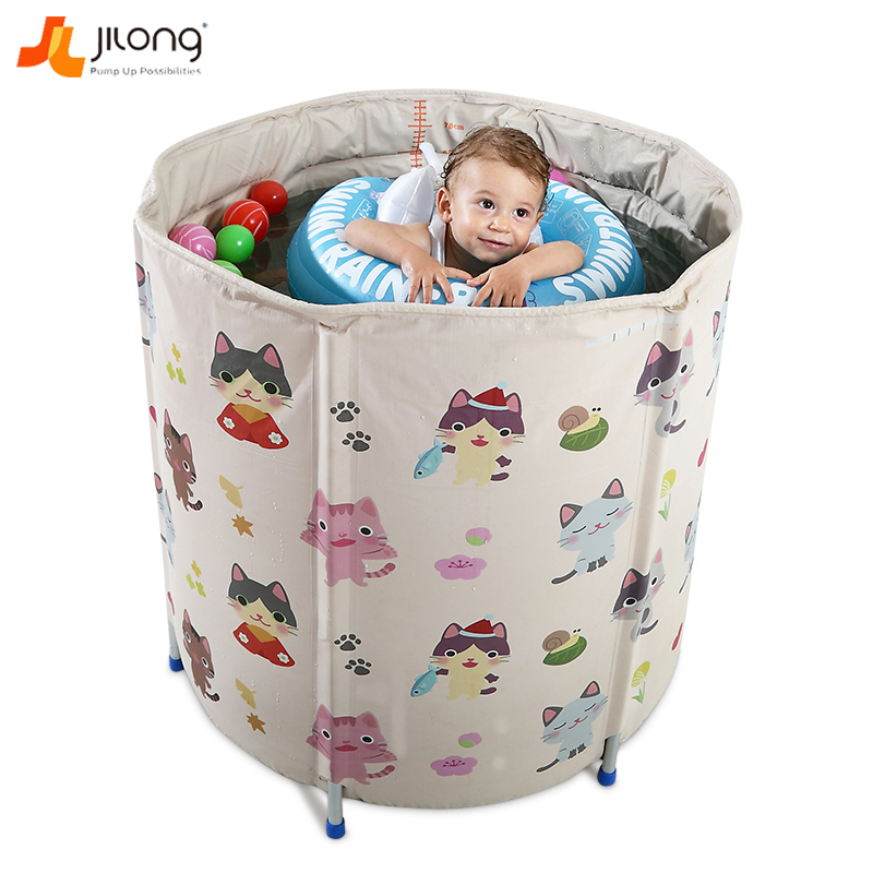 Jilong baby pool home insulation new children holder large bath tub ...