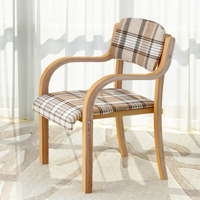 usd 90 93 curved wooden chair modern simple nordic japanese style