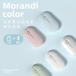 Bluetooth wireless mouse mute charging boys and girls cute for Apple, Xiaomi, Lenovo, Huawei laptops