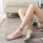 小雏菊水晶袜丝袜女袜子5双