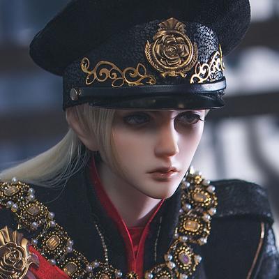 taobao agent Ringdoll ring man Davidson Lucifer military uniform Look position high weight original BJD doll SD uncle body