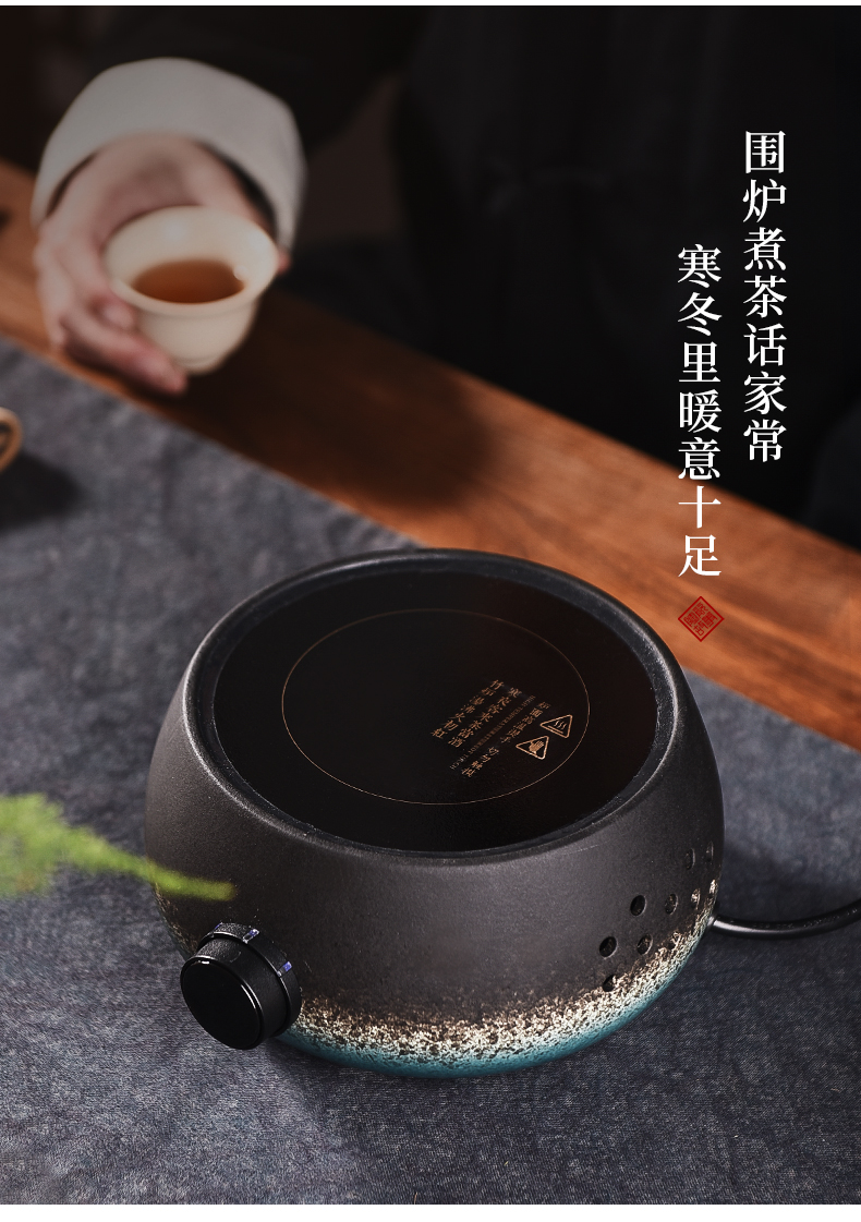 Ceramic electric TaoLu boiled tea, the mini small story intelligent quiet home cooking pot boil water power glass