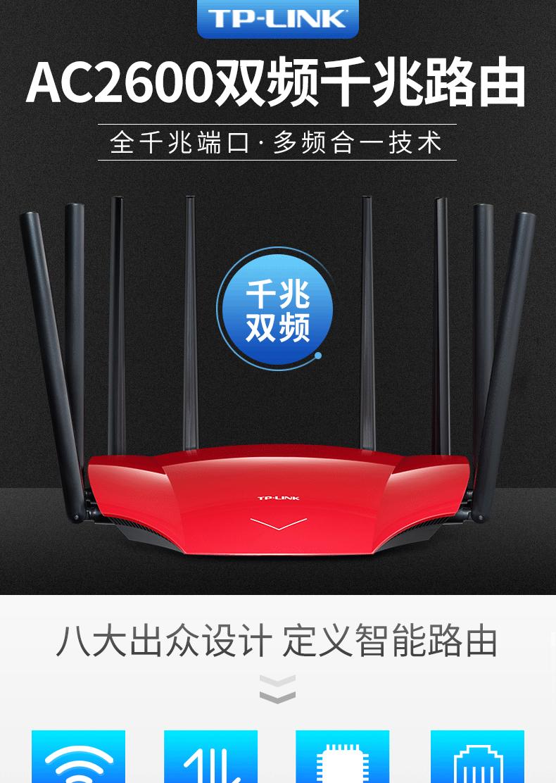 全千兆端口双频千兆路由器无线家用穿墙高速大功率穿墙王光纤宽带详细照片