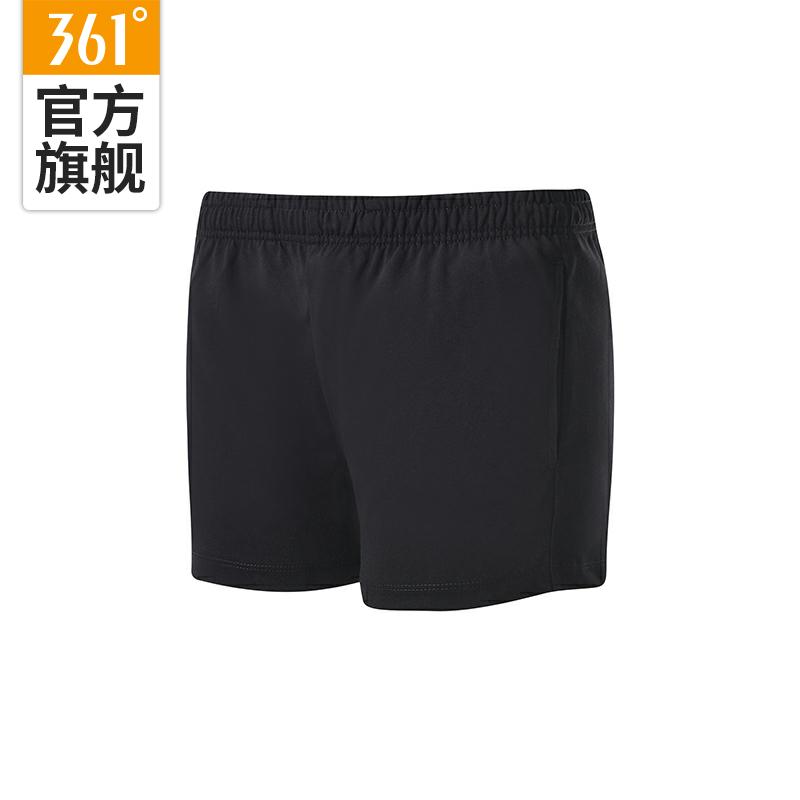 361度女装跑步运动短裤2019夏季新款健身短裤女士针织五分裤9710