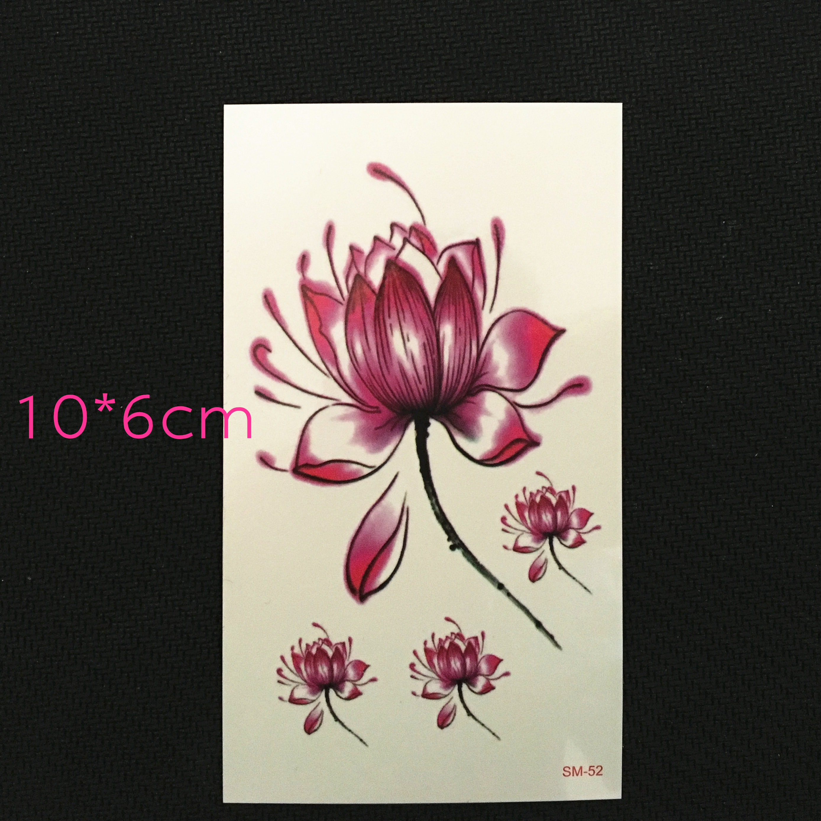 Hematoxylin original lotus waterproof tattoo stickers girls chest hematoxylin original lotus waterproof tattoo stickers girls chest flowers waterproof tattoo stickers lasting realistic small fresh izmirmasajfo