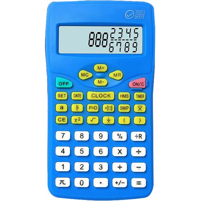包邮127K小学生三四年级专用学习考试科学分数显示便携计算器