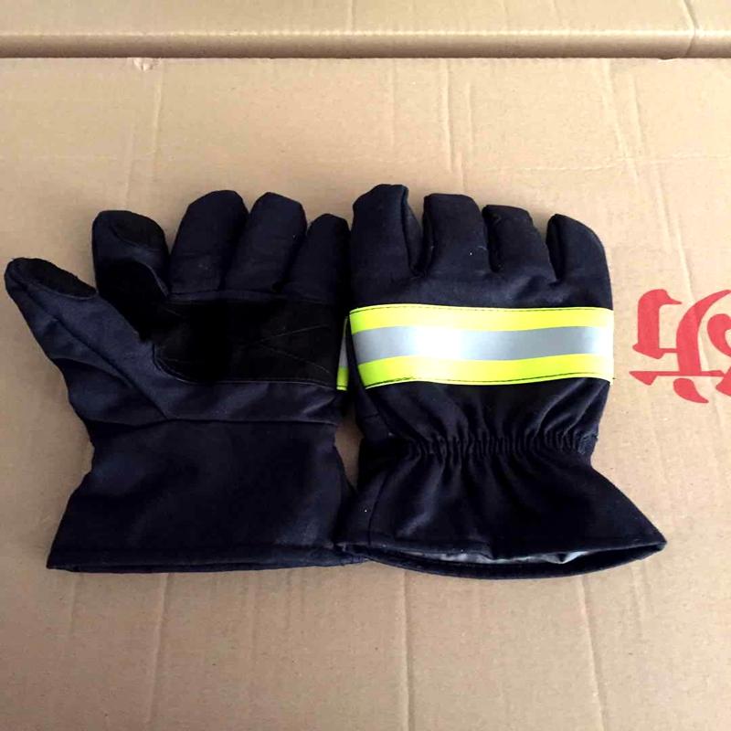 02 стиль пожаротушение перчатки Огнезащита перчатки Огнестойкий перчатки Был пожаробезопасной изоляцией жары перчатки Защита от огня перчатки