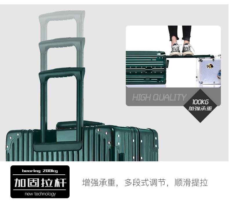 行李箱网红拉桿箱寸女大容量旅行箱男学生密码登机皮箱子详细照片